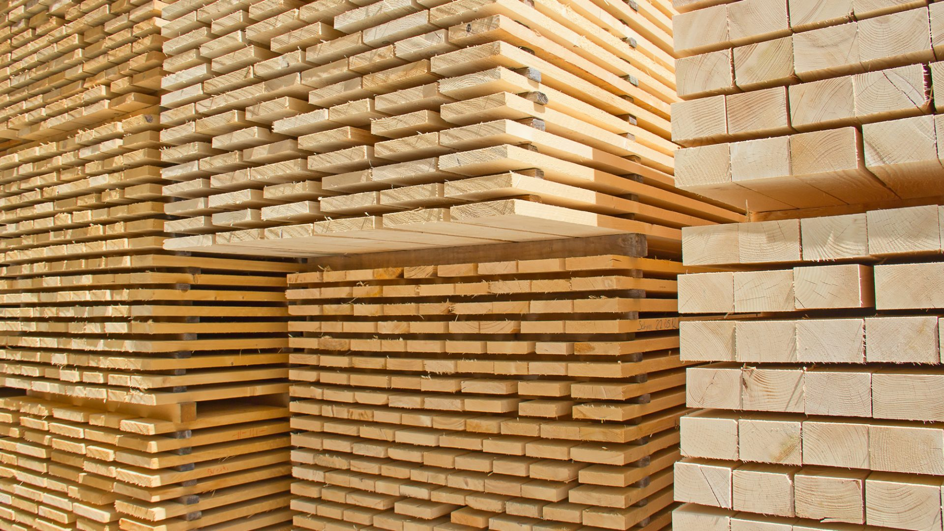 SALES OF SAWN TIMBER, PALLETS AND SIDE BOARDS
